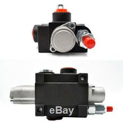 1 Spool Hydraulic Directional Control Valve 80L/min 21 GPM 4500PSI for Tractors