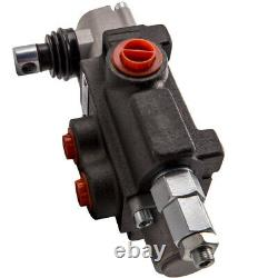 1 Spool Hydraulic Directional Control Valve Adjustable Pressure 11 GPM 4300 PSI