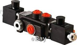 1 spool hydraulic solenoid directional control valve 13gpm 24VDC, monoblock
