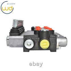 11GPM Adjustable Relief Valve 6 Spool Hydraulic Directional Control Valve