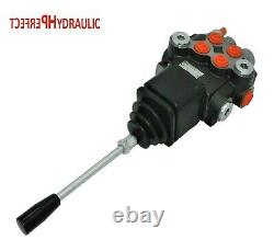 2 BANK Hydraulic Directional Control Valve JOYSTICK 21gpm 80L double acting