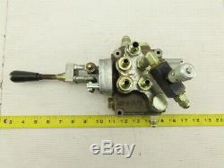 2 Spool 4 Way Hydraulic Directional Valve 4 Position Single Control