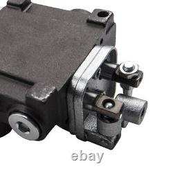 2 Spool Hydraulic Control Valve 11gpm Directional Double Acting Cylinder 40l/min