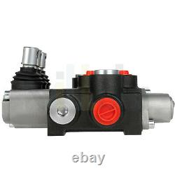 3 Spool Hydraulic Directional Control Valve 11 GPM 3600 PSI for Forklifts Loader