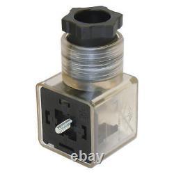 3 spool hydraulic solenoid directional control valve 21gpm 24VDC, monoblock