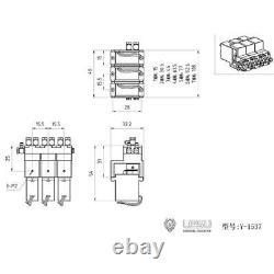 3CH LESU Directional Control Valve Hydraulic 1/14 RC Dump Truck Loader Excavator