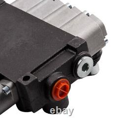 4 Spool Hydraulic Directional Control Valve11 GPM 3600 PSI for Tractors Loaders
