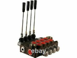 4 spool hydraulic directional control valve 32gpm, double acting cylinder spool