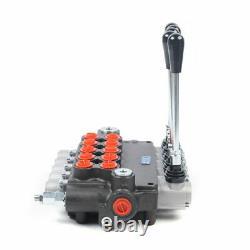 5 Spool Tractors Hydraulic Directional Control Valve Adjustable Pressure 31.5Mpa