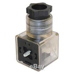 5 spool hydraulic solenoid directional control valve 13gpm 24VDC, monoblock