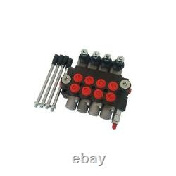 Adjustable Hydraulic Directional Control Valve 13 GPM 1/2/3/4 Spool