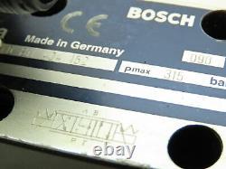 Bosch 0-811-404-152 Hydraulic Proportional Directional Control Servo Valve 9VDC