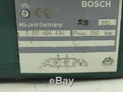 Bosch 0811404602 Hydraulic Proportional Directional Servo Valve 0811404434