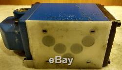 Bosch Rexroth R900589954 4WMM10J31/F Hydraulic Directional Control Valve withLever