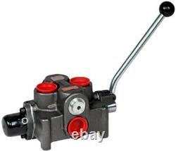 Brand Hydraulics DCF16M454LF1 Directional 4 Way Valve #16SAE/Lever/Meter