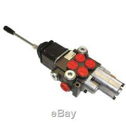 CHIEF 2P40A1A1 Hydraulic Directional Valve, 4Wys, 2Spools