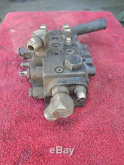 Commercial Intertech 4-Spool Hydraulic Directional Control Valve #1485568