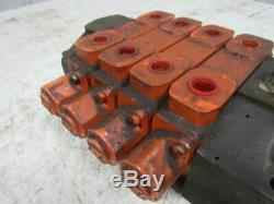 Commercial Intertech Sectional Directional Manual Hydraulic valve Assembly