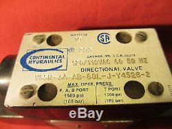 Continental Hydraulics, VS5M-3A-AB-68L-J-Y4526-2, Directional Valve, 10W