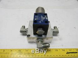 Continental VAD03M-1A-G-10-B Pneumatic Operated Hydraulic Directional Valve