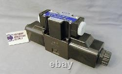D03 hydraulic directional control solenoid valve closed center 24VDC