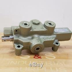 Dayton 6X844A Hydraulic Directional Control Valve, 1/2 Ports, 3000 PSI NEW