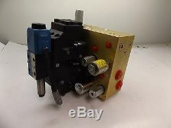 Eaton Vickers Hydraulic Directional Control Valve Actuator Manifold 630aa00662a