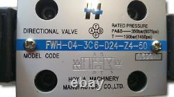 Electro-hydraulic directional control valve 80gpm/ 300l/min 24VDC, CETOP 7, NG16