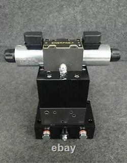Enerpac VE43 Pump Mounted Directional Control Valve, 4-Way, 3-Position 24V DC