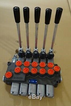 Five Spool Hydraulic Direction Control Valve