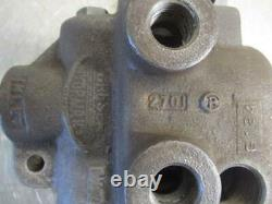 Gresen 2701 Hydraulic Directional Control Valve Single 1 Spool Spring Return