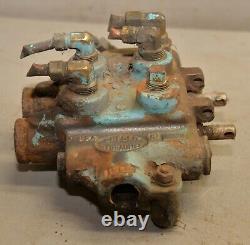 Gresen 2702 hydraulic directional control valve 2 spool log splitter loader G1