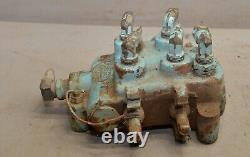 Gresen 2702 hydraulic directional control valve 2 spool log splitter loader G2