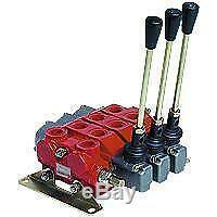 Hyd Slice Directional Control Valve 1 Bank 3/8 BSP 45 l/min D/A Spring Return