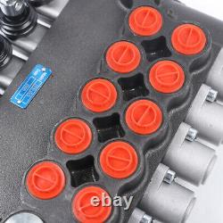 Hydraulic Directional Control Valve 5 Spool 4500PSI Pressure 80L/min for Tractor