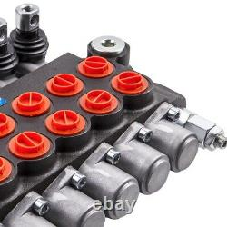 Hydraulic Directional Control Valve 6 Spool 11gpm, Double Acting Cylinder Spool