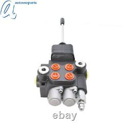 Hydraulic Directional Control Valve for Tractor Loader withJoystick 2 Spool 21GPM