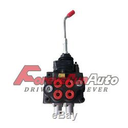 Hydraulic Joystick Loader Directional Control Valve LV22RFSTKAB 2 SPOOL