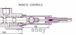Hydraulic directional control valve 11gpm/ 40lpm, double acting cylinder spools