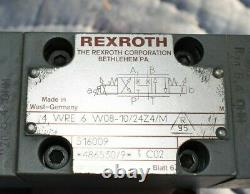Hydraulic directional control valve, Proportional valve, Rexroth 4WRE6, New