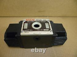 Nachi Ss-g03-c6-r-d2-e10 Wet Type Solenoid Operated Directional Hydraulic Valve