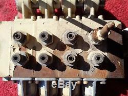 PARKER Control valve 4-Spool Hydraulic Directional #WB2DG Mod. 6-0092-74, DG0038