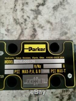 Parker D1VL001CN 22.0 GPM Max Flow 5000 Max PSI Hydraulic Directional Valve