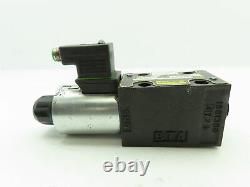 Parker D1VW020HNJP5 Hydraulic Directional Control Solenoid Valve 24VDC D1VW
