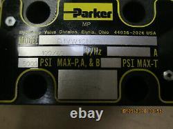 Parker D1vw1cnoph5 Hydraulic Directional Valve 60-100v 60hz 5000psi