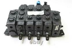 Parker V10-01076-E 4-Spool Hydraulic Mobile Directional Control Valve