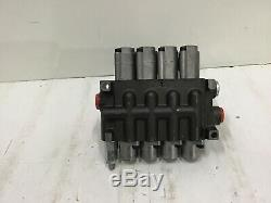 Prince 4 Ways Lever Hydraulic Directional Valve with 10 Flow Capacity 4P40