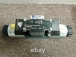 REXROTH HYDRAULICS 4WE 6 D46-62/OFEG24N9DK 3.3L Directional Valve USED