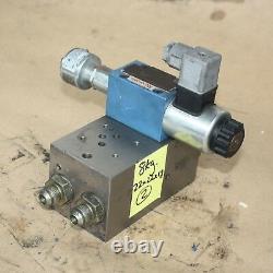 REXROTH R900913477 4WE 6 D62/EG24N9K4QMAG24 Hydraulic directional valve manifold