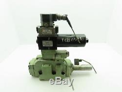 Rexroth 4WRD 25 Hydraulic Directional Control Servo Valve Stack 4WS2EM10